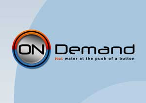 Logo Design for Clarks On Demand Water Heating System
